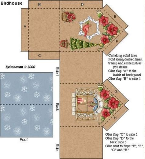 Diy Miniatur Papercraft Taman Safari image result for 3d paper house craft dies digi sts