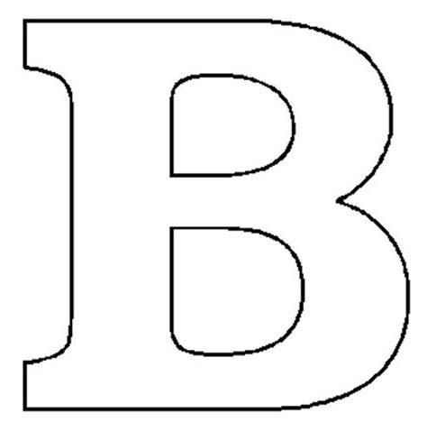 letter b formal letter template