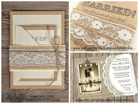 Burlap and Lace Wedding Decorations   The King And Prince Blog