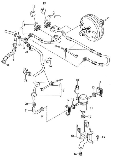 service manual 1987 audi 5000s vacuum pump how to connect vacuum pump audi seat skoda vw 1 9