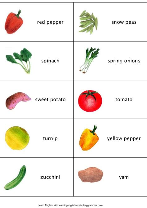 vegetables n fruits fruit vegetables berries and vocabulary