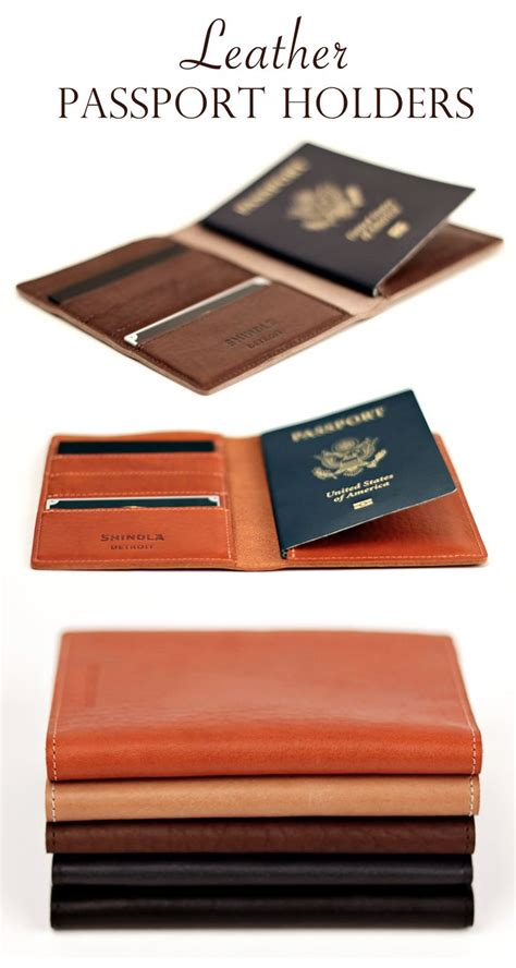 Tas Kulit Asli Il Bisonte Made In Italy leather passport holders made in small batched in