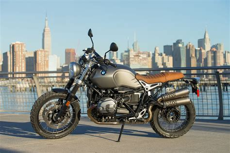 bmw motorcycle scrambler 2017 bmw r ninet scrambler review not your father s ride