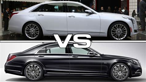 Cadillac Vs Mercedes by Cadillac Ct6 Vs Mercedes S Class