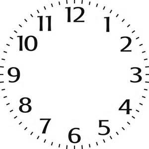 indigoblu stencil small clock face 6 quot x 6 quot indigoblu