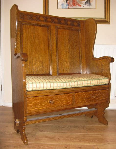 settle benches arts crafts settle by wylie lochhead antiques atlas