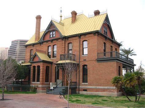 houses in phoenix historic rosson house in phoenix az phoenix architecture pintere