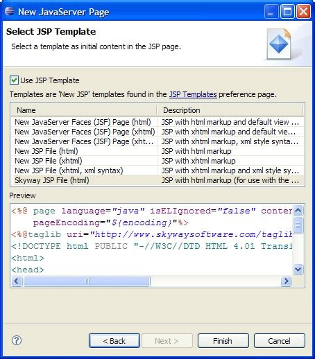 templates for jsp pages chapter 13 jsp page