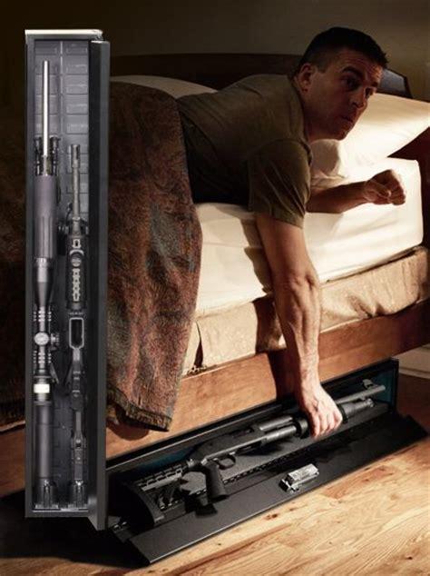 under bed gun storage hidden gun storage safe things i want to build house