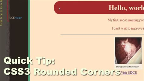 css layout rounded corners css3 rounded corners quick tip vmc ink