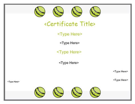 cricket certificate templates description