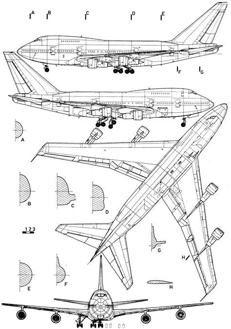 747 floor plan boeing 747 blueprint free blueprint for 3d modeling