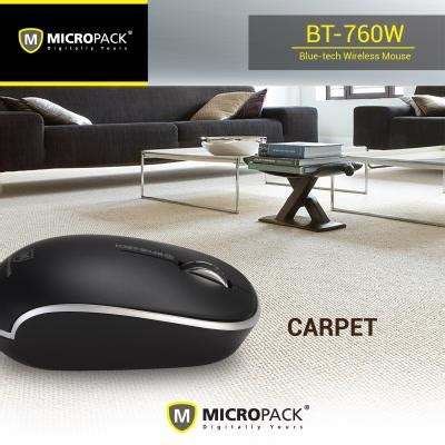 Micropack Bt 760w Wireless Mouse micropack