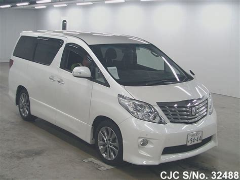 Talang Air Alphard Injection 2011 2011 toyota alphard white for sale stock no 32488 japanese used cars exporter