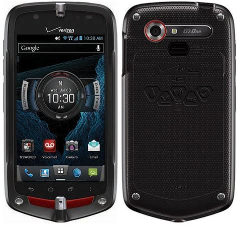 verizon android casio gzone commando 4g lte c811 mil spec android smartphone for verizon black fair