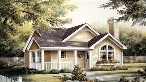 cottage plans one story cottage house plans one story house with picket