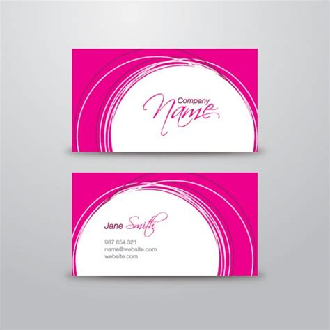 circle business card template at grass up free animals photo