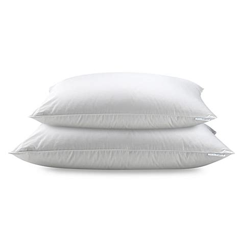 bed bath and beyond down pillows real simple 174 white down pillow bed bath beyond