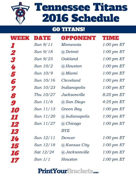 printable nfl schedule with channels 99 best printable nfl schedules images on pinterest