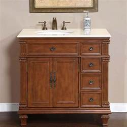 Bathroom Cabinet Vanity 36 Quot Perfecta Pa 132 Single Sink Cabinet Bathroom Vanity Cherry Finish Marble Hyp 0210 Cm