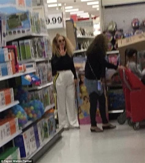 Spotted Shopping Beyonce Alba And More by Beyonce And Blue Shop At Target In Southern California