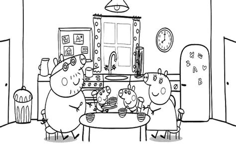stay warm with a printable peppa pig winter coloring pack peppa pig coloring pages jpg 800 215 570 projects to try