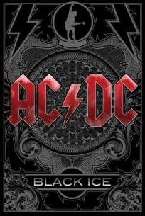 Dark Posters by Ac Dc Black Ice Poster Sold At Europosters