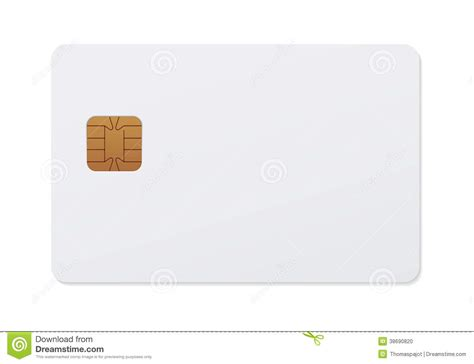 smart card stock illustration image of realistic