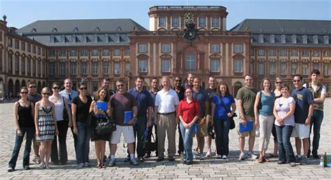 Mannheim Business School Mba Employment Report by Mba Students Visit Germany In Summer Course Master Of