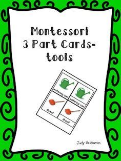montessori three part card template doc 1000 images about montessori materials free on