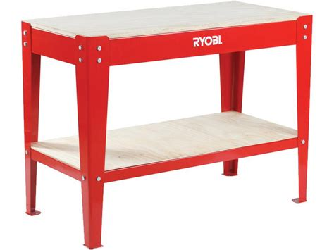 ryobi work bench all products ryobi workbench with shelf rwb 1200 4home co za online shopping