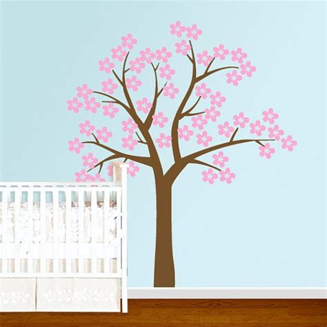 cherry blossom tree wall sticker cherry blossom tree wall decal 2017 grasscloth wallpaper