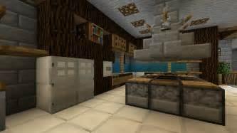 minecraft furniture kitchen modern style wooden make how