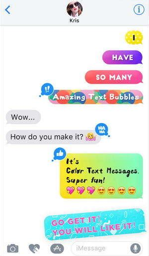 how to change message color on iphone top 2 ways to change message imessage background on iphone