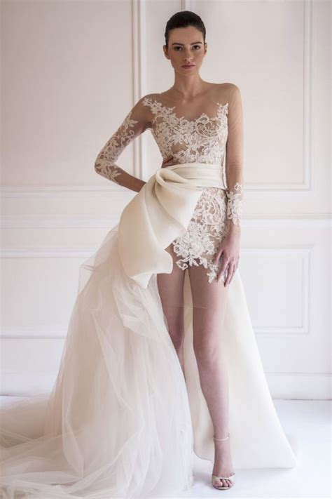 Wedding Dresses Couture yasmine yeya couture wedding dresses modwedding