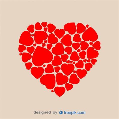 imagenes de corazones sin letras forma de coraz 243 n de corazones descargar vectores gratis