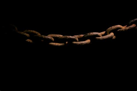 In Chains Are You Breaking Chains From The Mind Today S Black