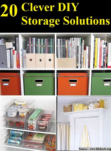 diy solutions 20 clever diy storage solutions home and life tips