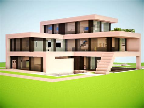 modern house building modern minecraft mansion minecraft modern house modern