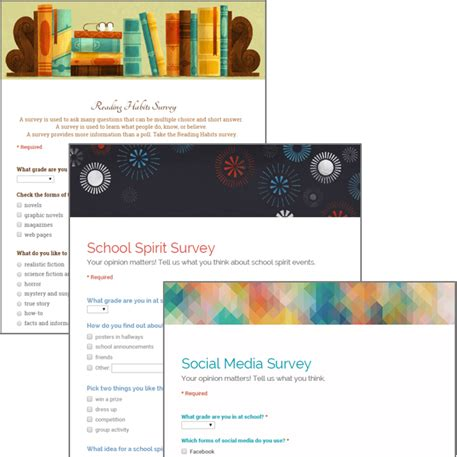 google questionnaire design google forms survey build a survey technoquestionnaire