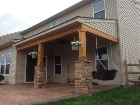patio sound system design posts columns and cedar tongue and groove on