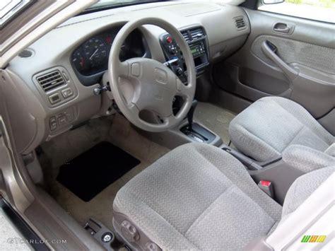 2000 Honda Civic Ex Coupe Interior by Beige Interior 2000 Honda Civic Ex Sedan Photo 49041024
