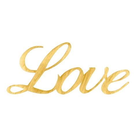 gold love themes shop for the gold love script wall d 233 cor accent