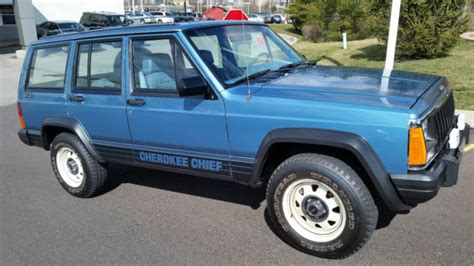 1987 Jeep Chief 1987 Jeep Chief Sport Utility Original 3480