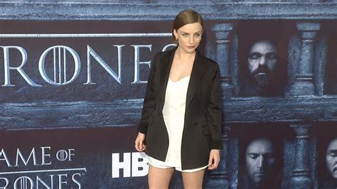 actress game of thrones season 6 faye marsay quot game of thrones quot season 6 hollywood premiere