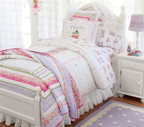 kids girls bedding another cute girls bed set from pottery barn for home