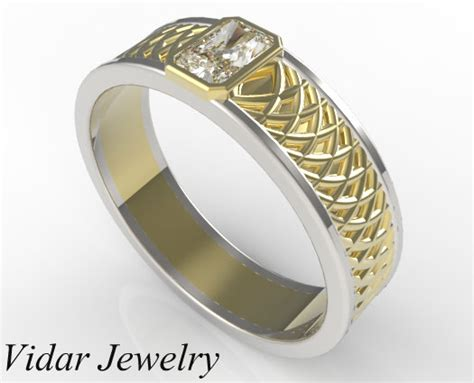 radiant cut wedding ring vidar jewelry unique