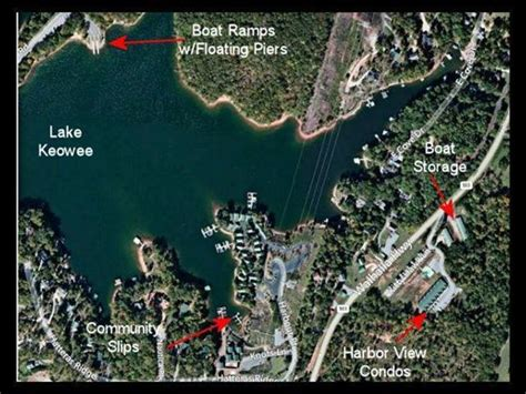 boat slips for rent lake keowee harbor view of keowee condominiums lake access with slips