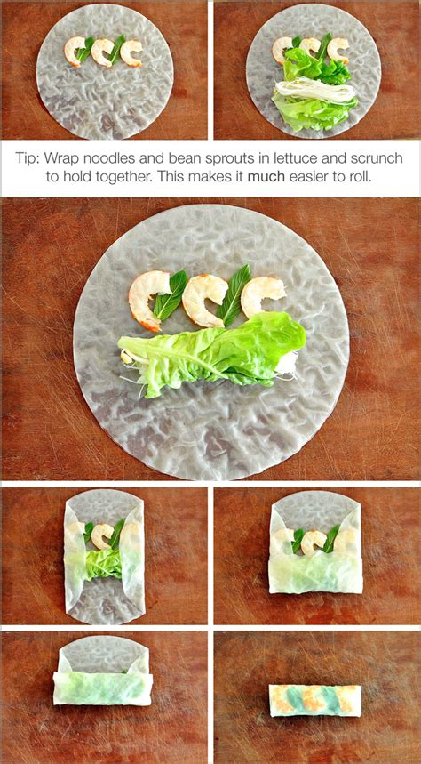 How To Make Rice Paper Rolls - rice paper rolls rolls recipetin eats