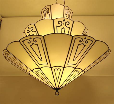 Theater Lighting Fixtures Large Deco Theatre Light Fixture At 1stdibs